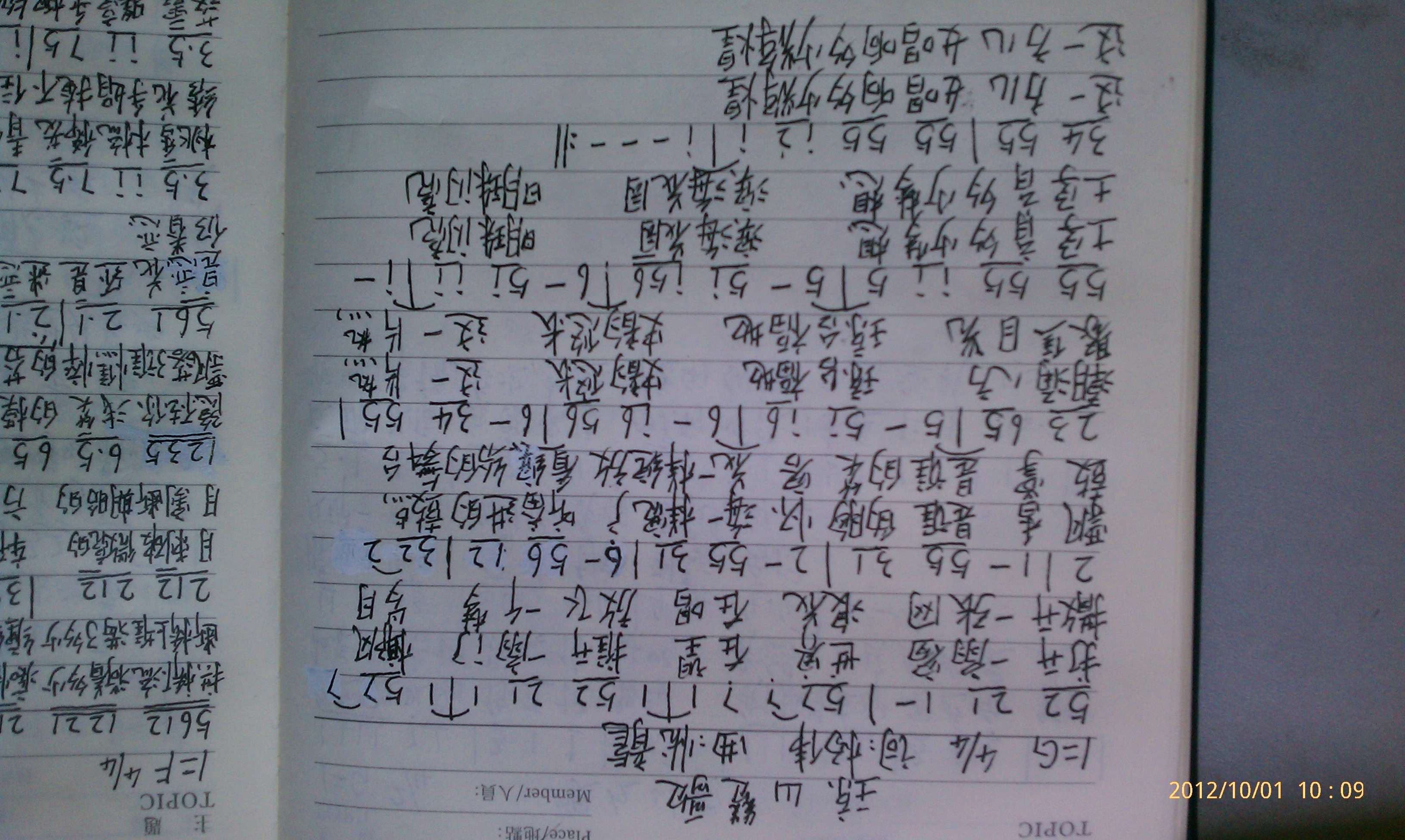 原创歌词 流行 琼山赞歌 曲谱 Powered by Discuz