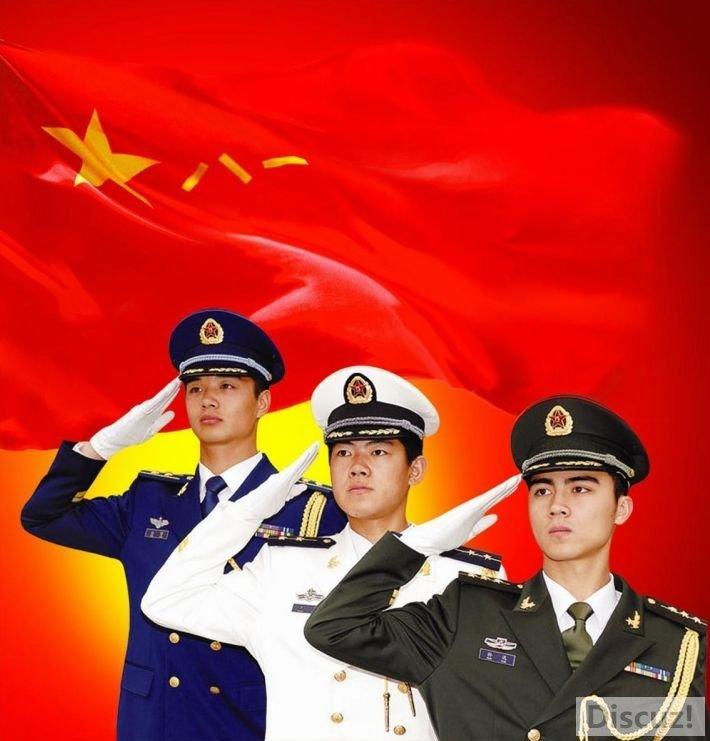 军旗飘扬———庆祝八一建军节