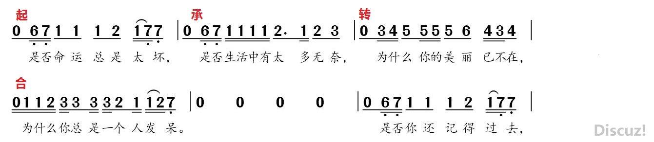 歌曲��作基�A(八)——�P于�D折