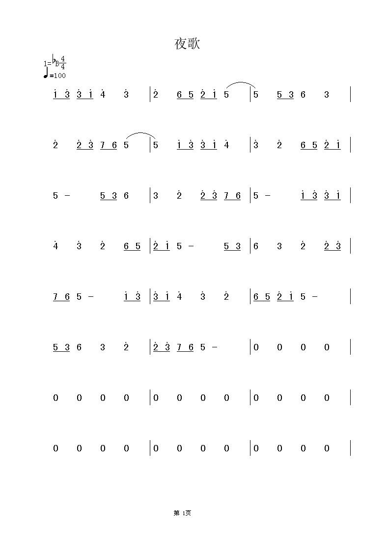 风打梨琵琶曲谱-MIDI文件的歌谱显示异常